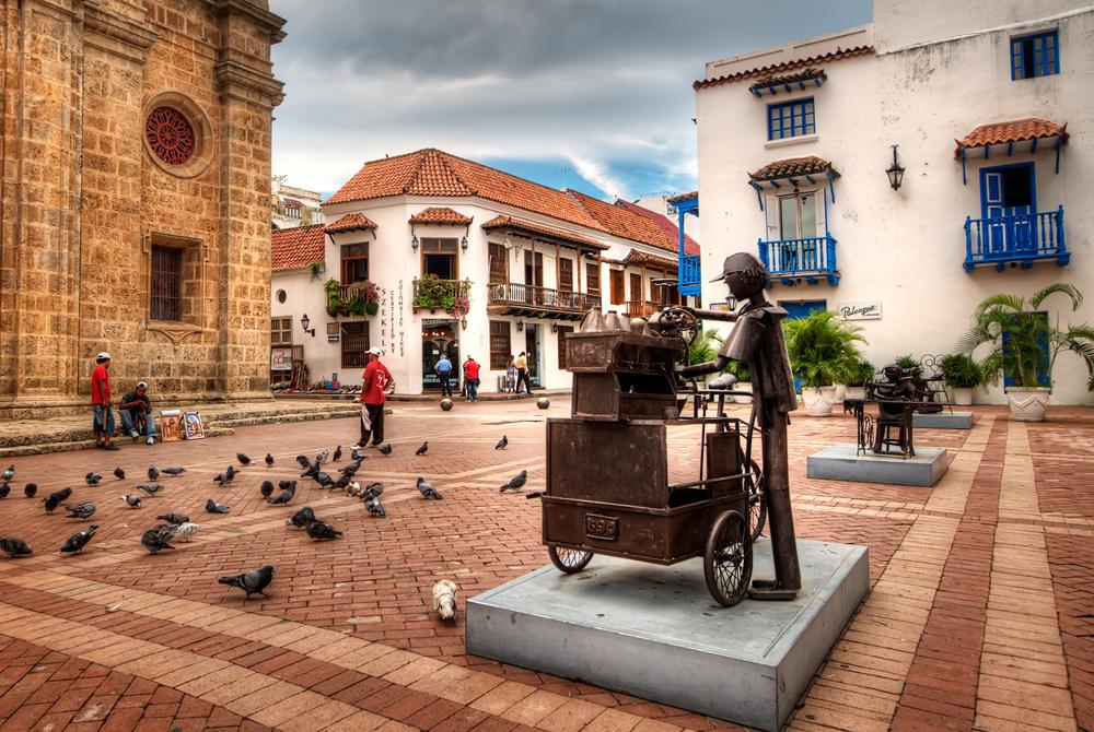 Kelionė į Kolumbiją (egzotinės kelionės) Cartagena, Colombia
