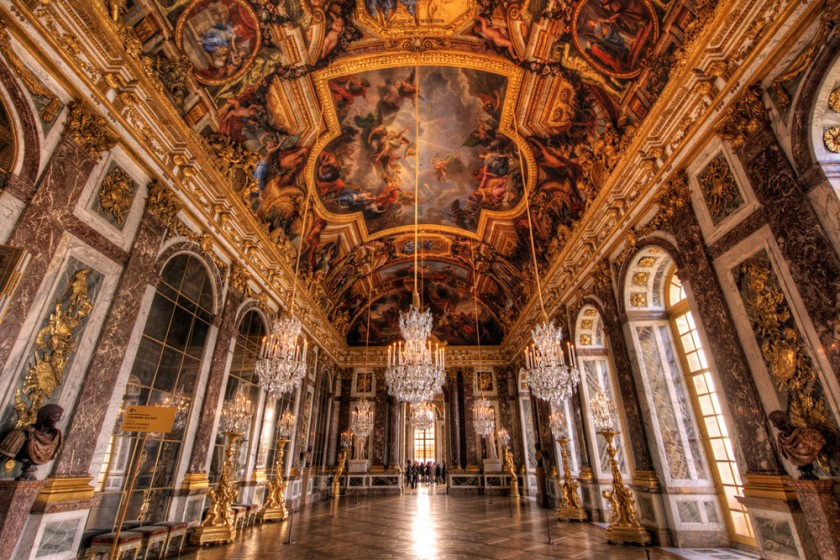 Palace of Versailles: Hall of Mirrors HDR