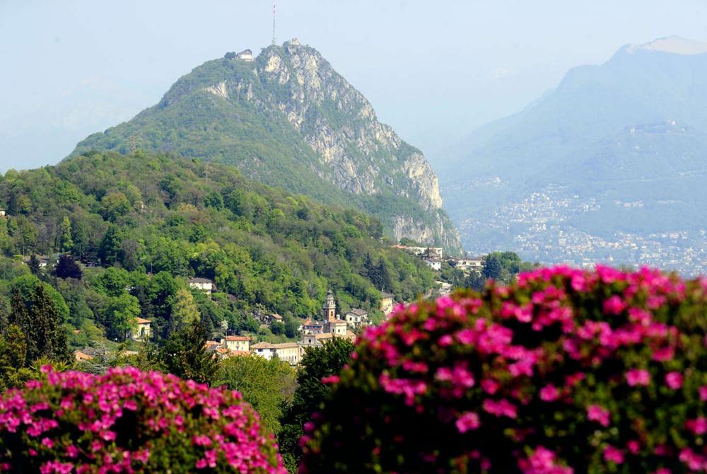 Carona: veduta Parco San Grato